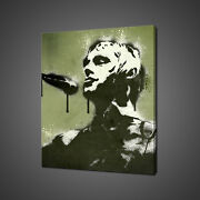 Paul Weller Stencil Canvas Print Picture Wall Art Home Decor Free Fast Delivery
