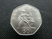 50p Fifty Pence Coins - Various Years - British Coin Hunt - Pick Your Coin