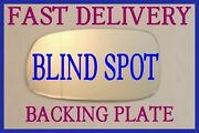 Saab Ys3e Ys3f Ys3g 9-3 9-5 2003-10 Wing Mirror Glass Blind Spot Back Plate Left