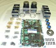 Power Head Rebuild Kit Mercury 150hp 92-98 3.500 Xr6 2.5l Std 100-21-40