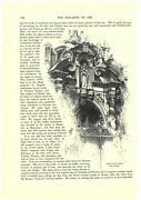 Porch Of St. Mary The Virgin 1881 University Church Oxford Victorian Print