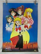 Sailor Moon Classic Poster Vintage 90and039s Toei Animation