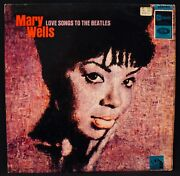 Mary Wells-love Songs To The Beatles-uk Import Album-northern Soul-stateside