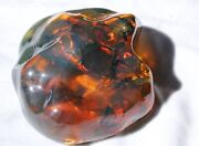 Fabulous Blue Full Polished Mexican Amber 381g