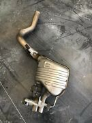Mercedes C63s Convertible Right Muffler Complete Used