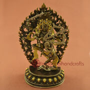 Fine Quality Hand Made Lost Wax Method Copper Alloy Kurkulla Statue From Nepal