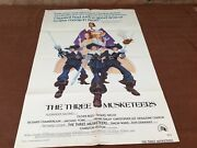 1974 The Three Musketeers Original Movie House Full Sheet Poster
