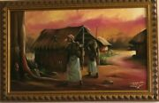 Uche Agonsi The Native Doctor African American Black Art Print Framed And Sign