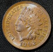 1902 1c Indian Small Cent Penny An1