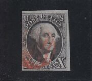 Us 2 B 10c Washington Used W/ Double Transfer In 'post Office' Scv 4000