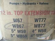 Waterous K562 Traffic 12 Top Extension Kit For Wb67 Hydrants, Pumps, Valves