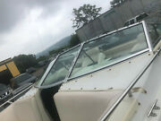 1994 Century 232 Boat 4500 Lx Left Side Front Windshield Glass Piece With Door