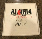 Mike Peters Signed Autographed Vinyl Album The Alarm Strength 1