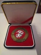 1775-2000 United States Marine Corps Birthday Ball Medal Plaque - 225 Years Bbbb