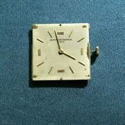Vacheron Constantin 18k Gold Watch Movement And Dial And Crystal Rare 1920-1925