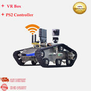 Wifi Video Rc Car With 3d Ccd Camera Vr Video Tank Robot+vr Box+ps2 Controller