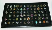 Sterling Silver Ring Lot Gemstone New Reseller Group Designer Signed Closeout
