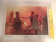 Cgc 9.8 Ss Aliens 1986 Lobby Card Signed By Biehn Paxton And Goldstein 11x14