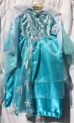 Disney Store Elsa Deluxe Limited Edition Costume Dress Size 7/8 Nwt Frozen