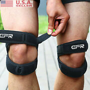 Cfr Dual Patella Knee Strap - For Knee Pain Relief Knee Brace Support Stabilizer