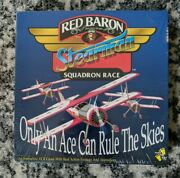 Red Baron Stearman Squadron Race Vcr Game Interactive Paws And Play Board Game