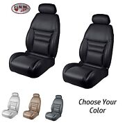 F And R Seat Upholstery, 1994-96 Mustang Gt, Cobra Convertible - Any Color + Foam