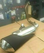 Bmw Exhaust System For G310r 2019 With Mounting Brackets And Trim Covers
