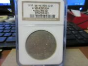 1933 Hk-821 Sterling Investment Co. Reno Nevada Dollar Ngc Ms 62 Silver