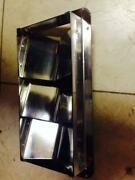 Stainless Steel Louvered Vent 8-1/4 L X 4-3/8 W X 1 D