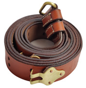 Pack Of 10us Army M1907 M1 Garand 1903 Springfield Leather Rifle Sling Brass