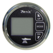 Faria 2 Dual Depth Sounder W/ Air And Water Temp Transom Mount Transducer 13752