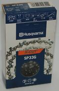 Husqvarna Sp33g X-cut 20and039and039 Chainsaw Chain Semi Chisel .325 .050 80dl 5816436-80
