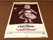 1973 A Doll's House Original Movie House Full Sheet Poster