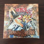 Yu-gi-oh Thousand Eyes Bible Japanese Booster Box Factory Shield Japan F/s New