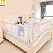 Barrier For Beds Crib Rails Security Fencing Home Kids Playpen Safety Gate Care