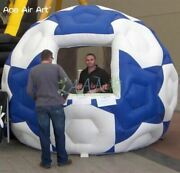Inflatable Tradeshow Concession Stand Bar Food Drink Soccer Ball Tent Booth New