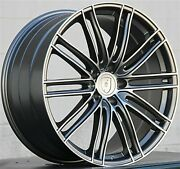 Set4 22 22x10/22x11 5x130 Turbo Style Wheels And Tires Package Porsche Cayenne