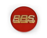 Bbs Japan Emblems Red 70mm With Ring Set Of 4 From Japan