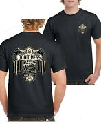 Donand039t Mess With My Faith Family Firearms Freedom T-shirt Backfront Size S-5xl
