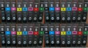 4 Sets 32 Virgin Genuine Empty Canon 8 Ink Cartridges Quality Empties Cli-8
