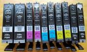 2 Sets 10 Virgin Genuine Empty Canon 250xl And 251xl Ink Cartridges Empties