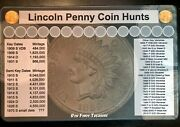11 X 17 Penny Coin Roll Hunting Mat - Rubber Backed And Safe For Coins