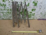 1920and039s Old Vintage Running Board Luggage Gas Oil Can Rack Ford Chevy Dodge 1