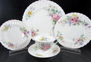 Royal Doulton Arcadia H4802 5 Piece Place Setting Great Condition