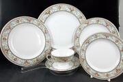Hutschenreuther The Meriden 6 Piece Place Setting Vintage Great Condition
