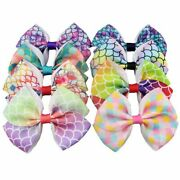 50pcs Kids Baby Girls Hair Bows Alligator Clips Hair Accessories Colorful