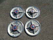 1965 Ford Galaxie Spinner Hubcaps Wheel Covers Fomoco