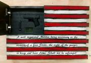 Small American Flag With Second Amendment