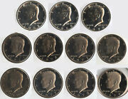 Kennedy 1968 - 2010 Half Dollar Proof Set - Halves Coin Collection - Bd662
