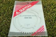 Nos Suntour Superbe Pro Njs Fixed Gear Track Chainring - 51t, 144mm, 1/8 Pitch